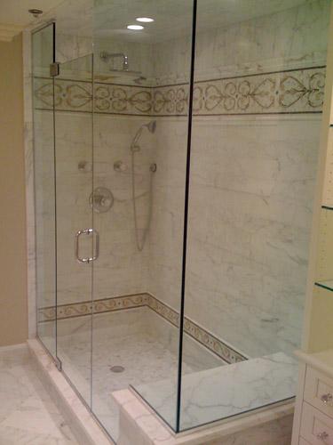 Frameless glass shower doors enclosures modern for Bathroom designs glass shower enclosures
