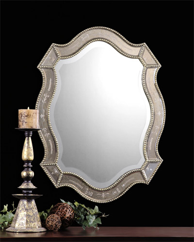 Shaped Mirror - Felicie Oval