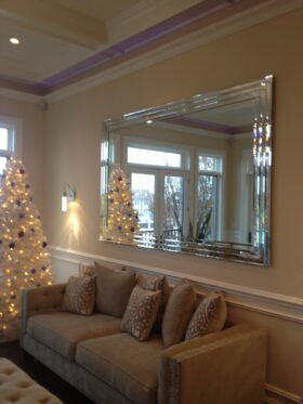 Triple Stack Beveled Mirror