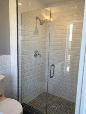 Door and Panel Shower Door