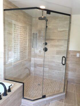 NeoAngle Shower Door