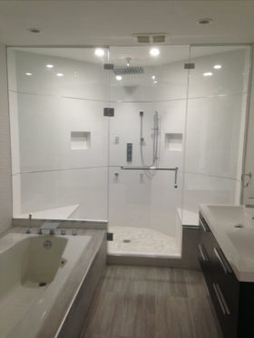 Shower Doors - Steam Enclosure